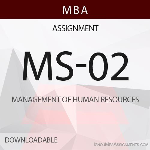 MS-02 Solved Assignment