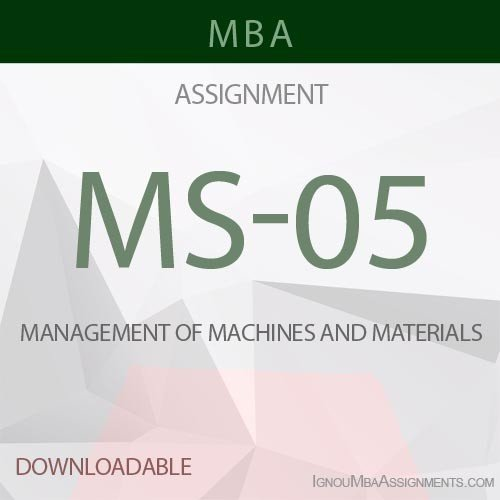 MS-05 Solved Assignment