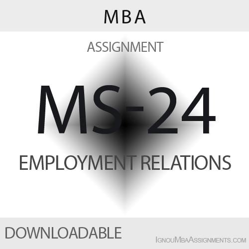 MS-24 Solved Assignment