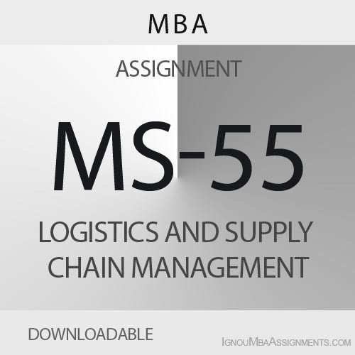 MS-55 Solved Assignment