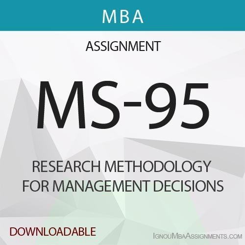 MS-95 Solved Assignment