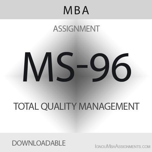 MS-96 Solved Assignment